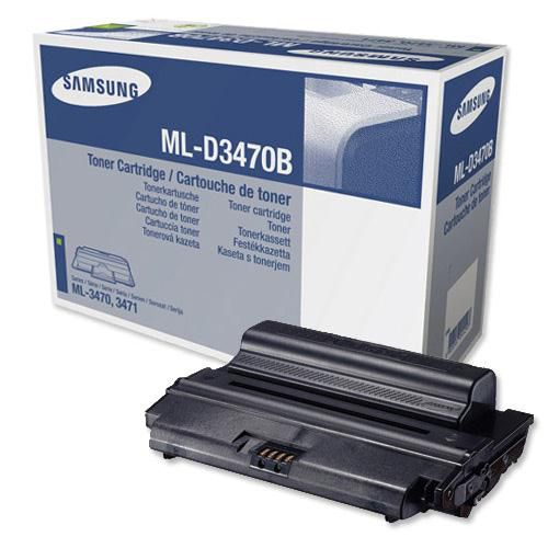 Samsung Laser Toner Cartridge High Yield Page Life 10000pp Black Ref ML-D3470B/EUR