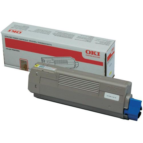 Oki C610 Yellow Toner 44315305