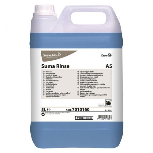 Suma A5 Diversey Rinse Aid 5 Litres Ref 7010160 [Pack 2]