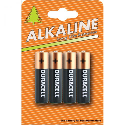 Duracell Plus Power Battery Alkaline AA Ref AADURIND4 [Pack 4]