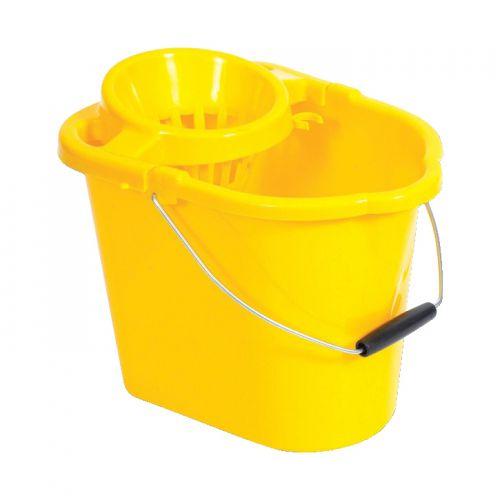 Oval Mop Bucket Yellow MBPY