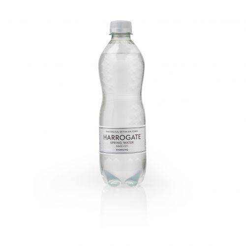 Harrogate Sparkling Water Plastic Bottle 500ml Ref P500242C [Pack 24]