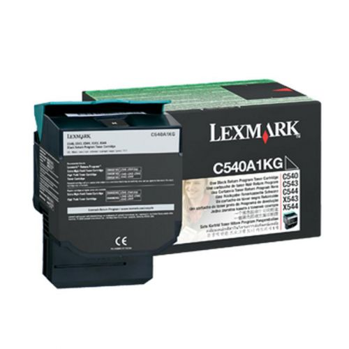 Lexmark C540 Laser Toner Cartridge Page Life 1000pp Black Ref 0C540A1KG