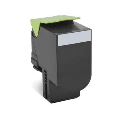Lexmark 702K Laser Toner Cartridge Return Programme Page Life 1000pp Black Ref 70C20K0