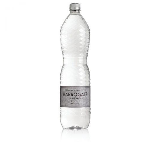 Harrogate Sparkling Water Plastic Bottle 1.5 litres Ref P150122C [Pack 12]