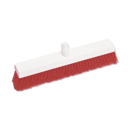 Scott Young Research Interchange Hygiene Hard Broom Head 12 inch Red Ref BHY12HR