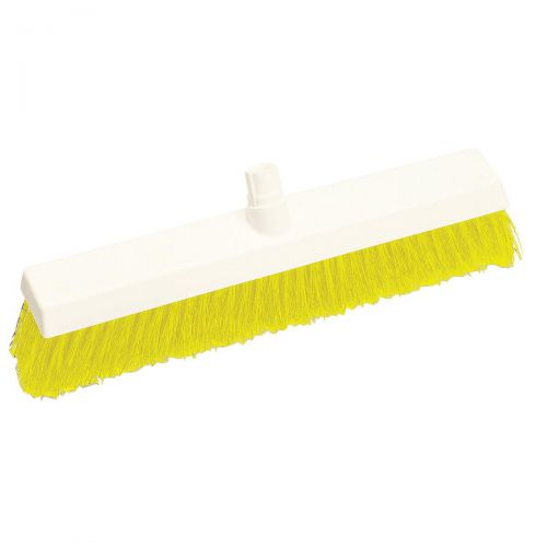 Scott Young Research Interchange Hygiene Soft Broom Head 12 Inch Yellow Ref BHY12SY