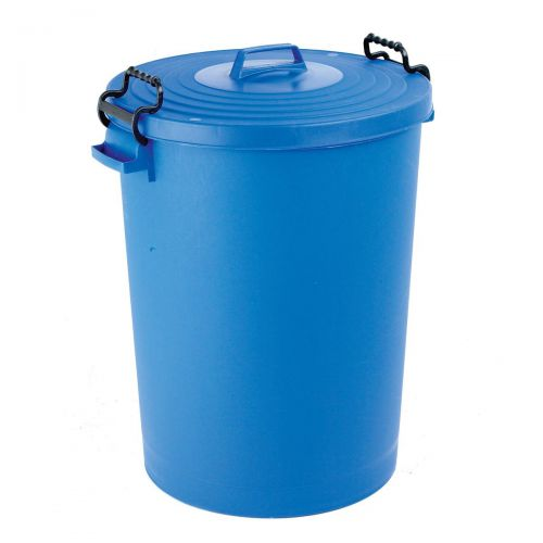 Dustbin with Blue Lid 110 Litres