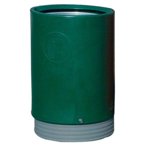 Outdoor Green Open Top Bin 321776
