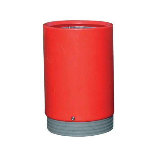 Open Top Bin Heavy-Duty 75 Litres Red