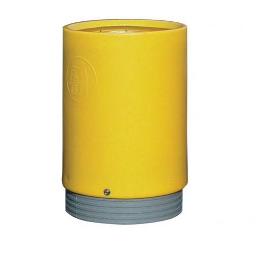 Open Top Bin Heavy-Duty 75 Litres Yellow