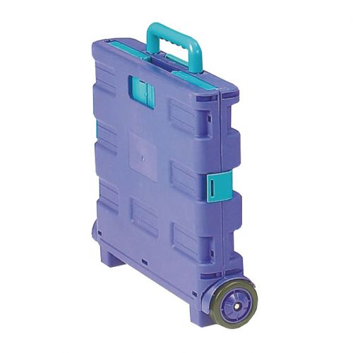 Folding Container Trolley Blue-Green SBY16211               330mm Blue/Green