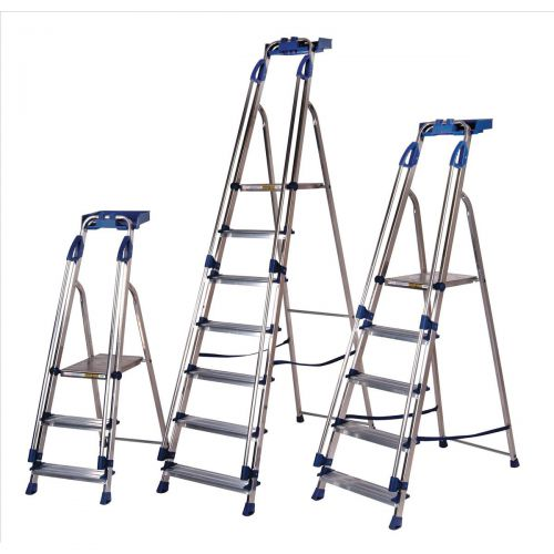 Aluminium Blue Seal 6 Tread Ladder