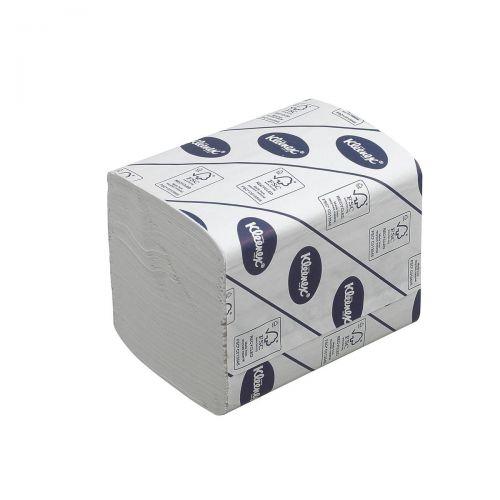 Kleenex 27 Toilet Tissue Bulk Pack Folded 260 Sheets per sleeve 2-ply White Ref 4477 [Pack 27]