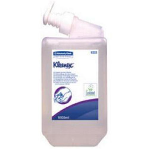 Kleenex 1 Litre Frequent Use Unperfumed Hand Cleanser (Pack of 6) 6333