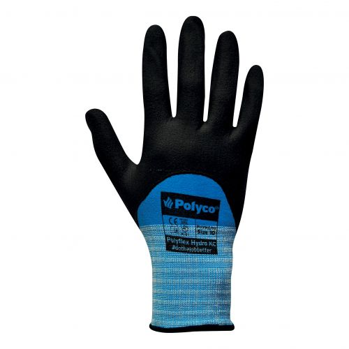 Polyco Gloves Smart Tip Touchscreen Nitrile Foam Coated Size 8 [Pair] Ref PHYKC/08