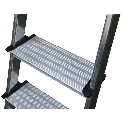 Image for Aluminium Ladder 5 Tread Extra Deep