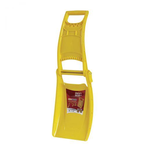 Snow Shovel Foldable Space-saving Yellow