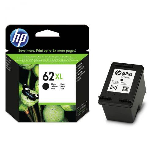 Hewlett Packard [HP] No.62XL Inkjet Cartridge 12ml Page Life 600pp Black Ref C2P05AE