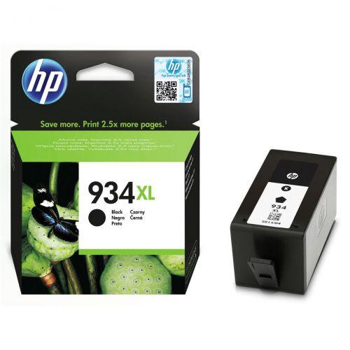 Hewlett Packard [HP] No.934XL Inkjet Cartridge High Yield Page Life 1000pp 25.5ml Black Ref C2P23AE