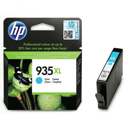 Hewlett Packard [HP] No.935XL Inkjet Cartridge High Yield Page Life 825pp 9.5ml Cyan Ref C2P24AE