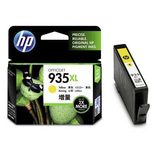 Hewlett Packard [HP] No.935XL Inkjet Cartridge High Yield Page Life 825pp 9.5ml Yellow Ref C2P26AE