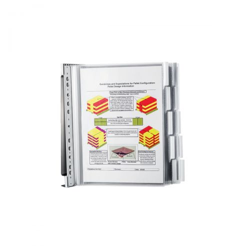 Durable Panel System Wall Mounted Stainless Steel Ref 584300