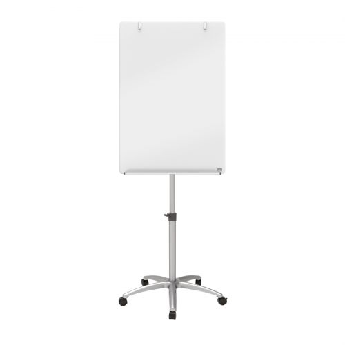 Nobo Diamond Mobile Easel Glass 700x1000mm Ref 1903949
