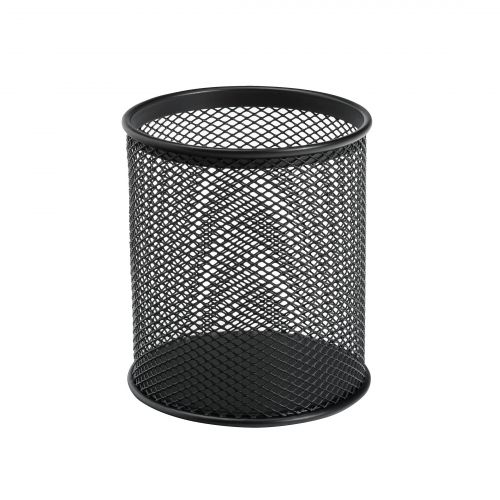Mesh Pencil Holder Black Wire Mesh