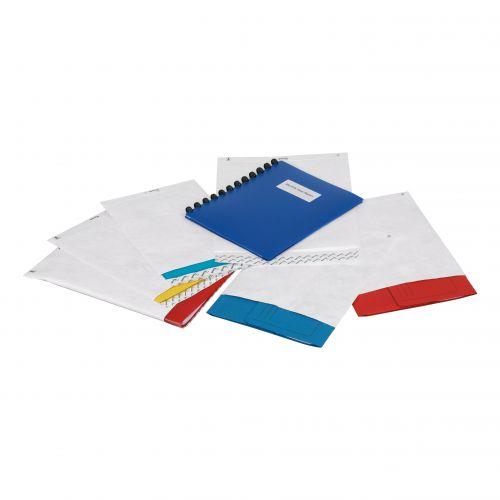 Tyvek Pocket Envelopes Strong Lightweight 330x250mm 55gsm Peel & Seal White Ref 11792 [Pack 100]