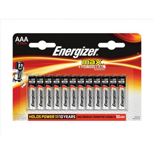 Energizer Max AAA/E92 Batteries Ref E300103700 [Pack 12]