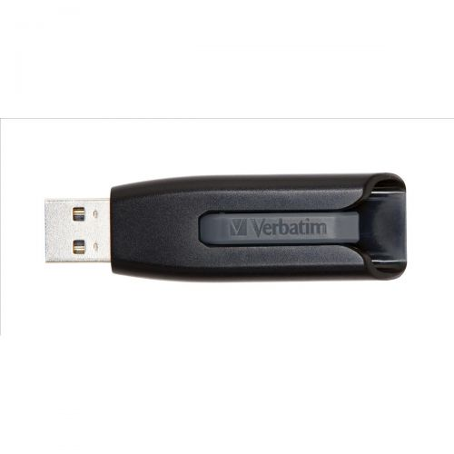 VerbatimV3 USB3.0DriveBlk/Gry 32GB 49173