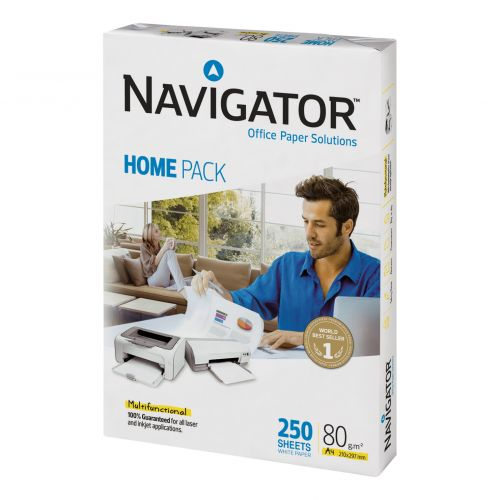 Navigator Homepack Paper Multifunctional 80gsm A4 White Ref 127415 [250 Sheets ]