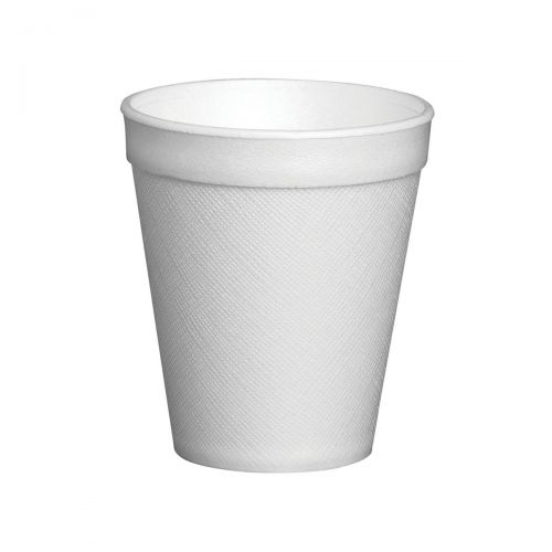Cup Insulated Foam EPS Polystyrene 7oz 207ml White Ref 7LX6 [Pack 25]