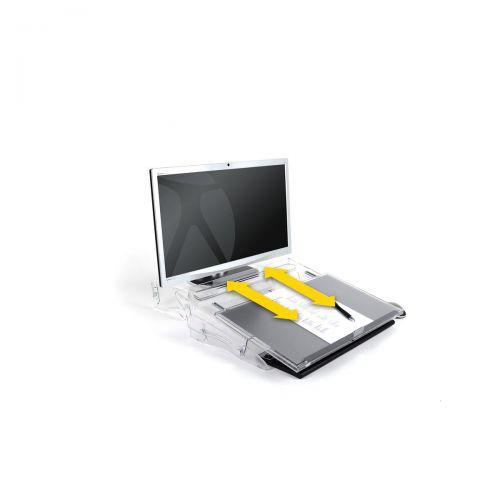 Bakker Elkhuizen FlexDesk 640 Document Holder Height-adjustable A3 Ref BNEFDESK640A