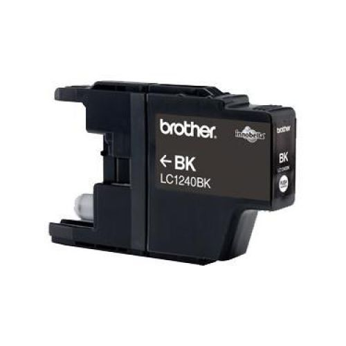 Brother Inkjet Cartridge Page Life 600pp Black Ref LC123BKBP2 [Pack 2]