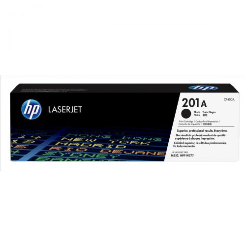 HP 201A Laserjet Toner Cartridge Page Life 1500pp Black Ref CF400A