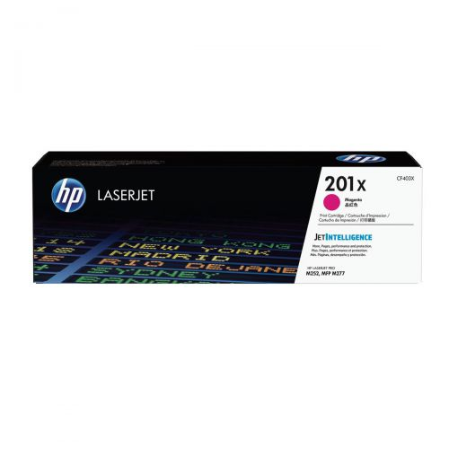 HP 201X Laserjet Toner Cartridge High Yield Page Life 2300ppMagenta Ref CF403X