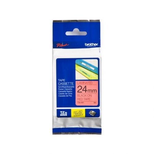 Brother MK-631BZ Labelling Tape Cassette W Black on Yellow L 12 mm x 8 m Brother Genuine Supplies