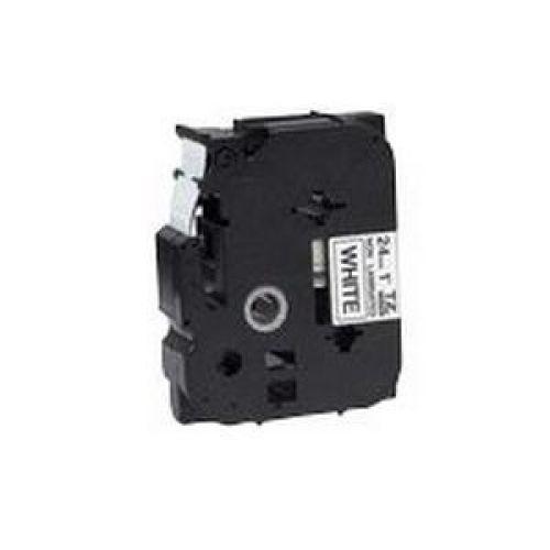 Brother P-Touch TZe-N251 24mmx8m BlackOnMatt White Non-Lam Lab Tape Ref TZEN251 3to5 Day Leadtime