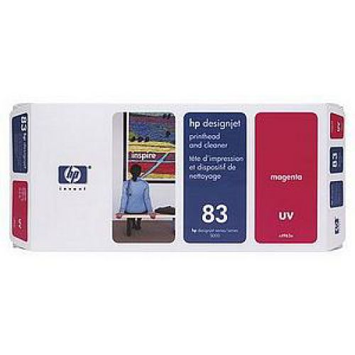 HP 83 Magenta UV Printhead/Cleanr C4962A
