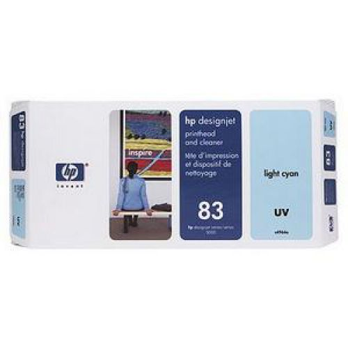 HP 83 Lt Cyan UV Printhead/Cleanr C4964A