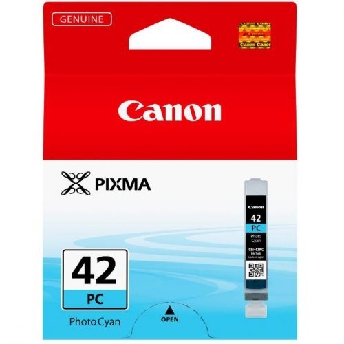 Canon CLI-42PC Photo Ink Tank Page Life 292pp 13ml Cyan Ref 6388B001