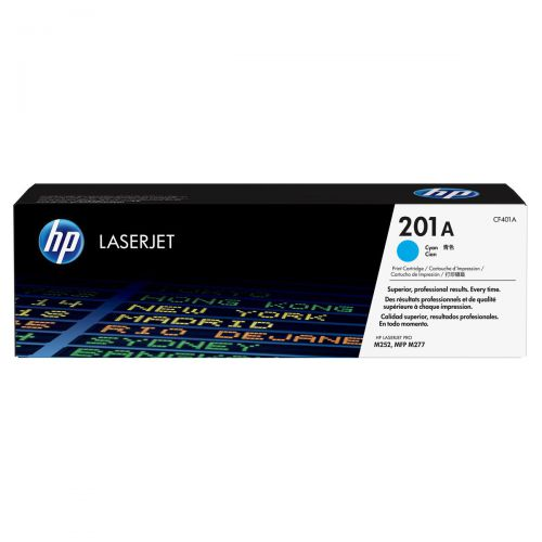 HP 201A LaserJet Toner Cartridges Page Life 1330pp Cyan Ref CF401A