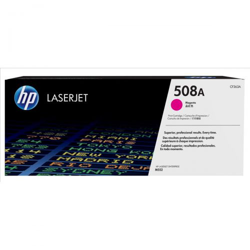 HP 508A Laser Toner Cartridge Page Life 5000pp Magenta Ref CF363A