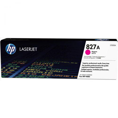 HP 827A LaserJet Toner Cartridge Page Life 32000pp Magenta Ref CF303A