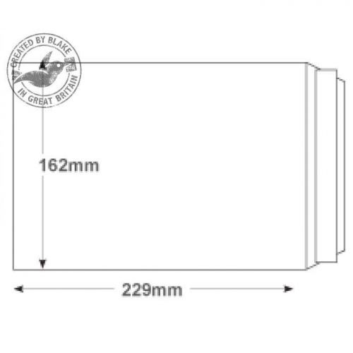 Purely Everyday White Peel and Seal Pocket C5 229x162mm Ref 23893 [Pack 500] 10 Day Leadtime