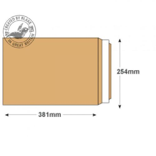 Purely Everyday Pocket P&S Manilla 115gsm 381x254mm Ref 23890PS [Pack 250] 10 Day Leadtime
