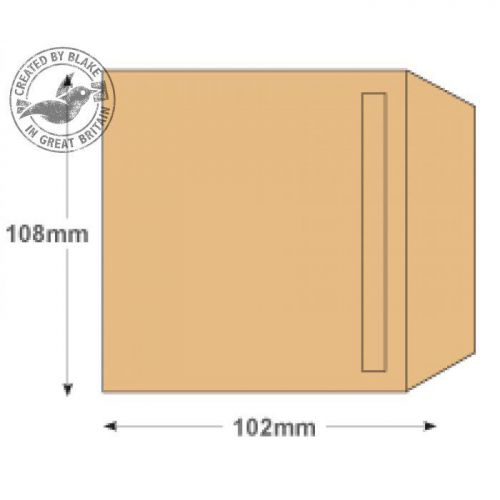 Purely Everyday Wage Unprinted Manilla 80gsm 108x102 SS Ref 13922 Pk1000 10 Day Leadtime