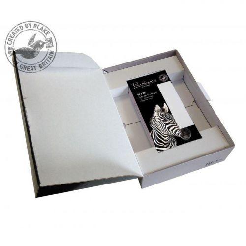 Blake Soho High White Wove A4 Paper & Wallet P&S DL envelopes 120gsm Pk250/50 35670 10 Day Leadtime